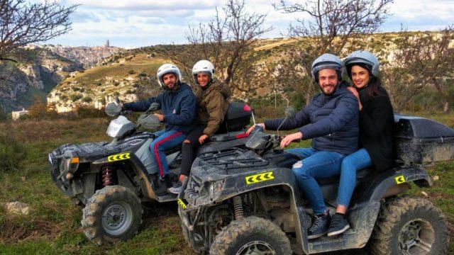 Campagna Materana in Quad
